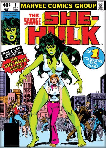 Savage She Hulk 1 PHOTO MAGNET 2 1/2 in. x 3 1/2 in.