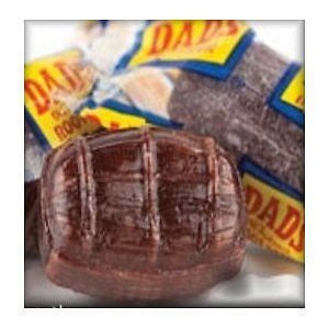 Washburn Dad's Wrapped Root Beer Barrels, 2.5Lb
