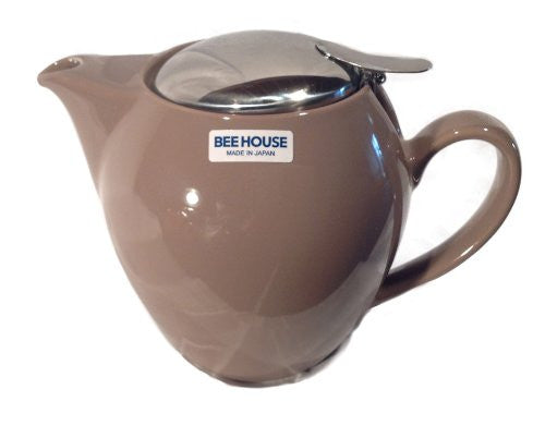 Bee House Ceramic 22 Ounce Round Teapot (Oolong)