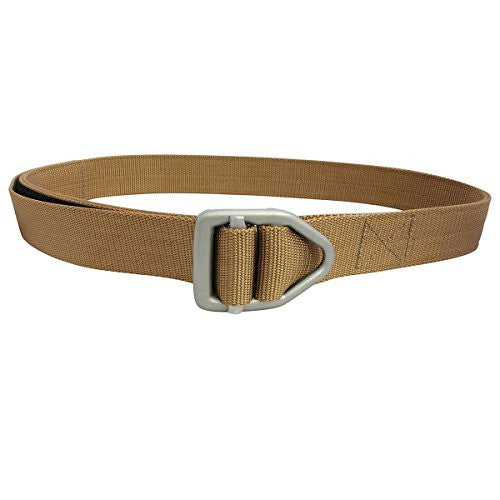 38mm - Last Chance Heavy Duty Black Buckle - Cayote Brown