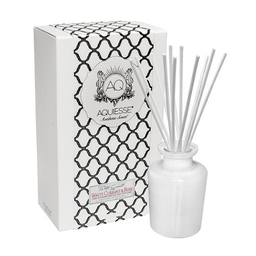 White Currant & Rose Reed Diffuser Gift Set