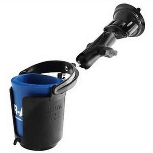 RAM Drink Cup Holder with Suction Base