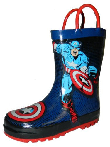 Western Chief Captain America Boots Red Size: 10 Child