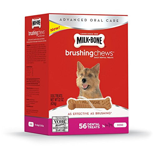 Milk-Bone Brushing Chews Mini 56ct