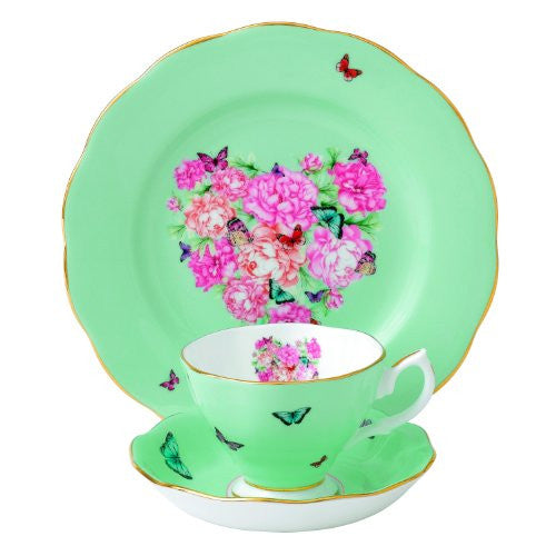 MIRANDA KERR 3-PIECE SET BLESSINGS (TEACUP, SAUCER, PLATE)