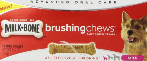 Milk-Bone Brushing Chews Mini 14ct