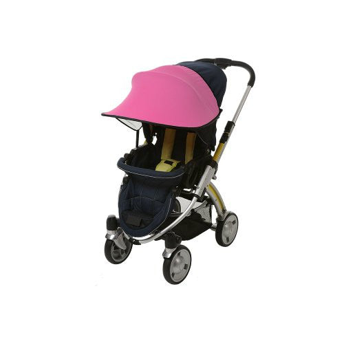 Sun Shade for Stroller and Car Seat, Pink