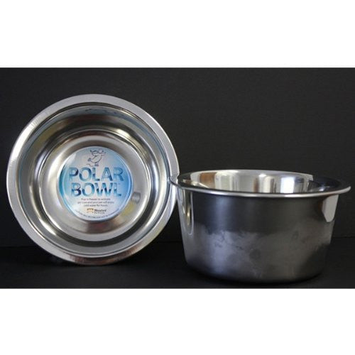 Polar Bowl - Freezable Water Bowl for Pets, Small 14 ounces