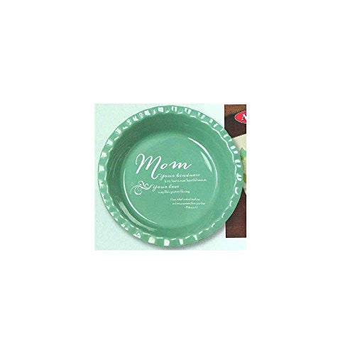 Mom Deep Dish Pie Plate