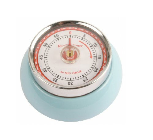 MAGNETIC KITCHEN TIMER LT BLUE