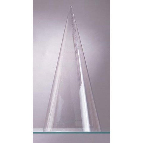 Plastic Cone Doll Body - Clear - 12 inches