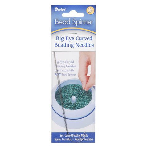 Darice® Bead Spinner Curved Beading Needles - 2 pieces
