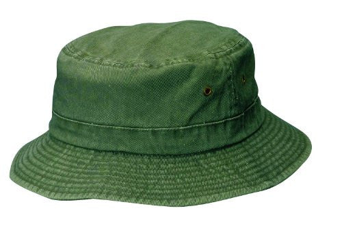 Dorfman Pacific Unisex Cotton Summer Bucket Hat (Stone / Large/X-Large)