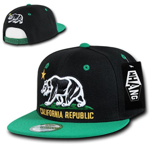 WHANG Snapbacks (Black Kelly)