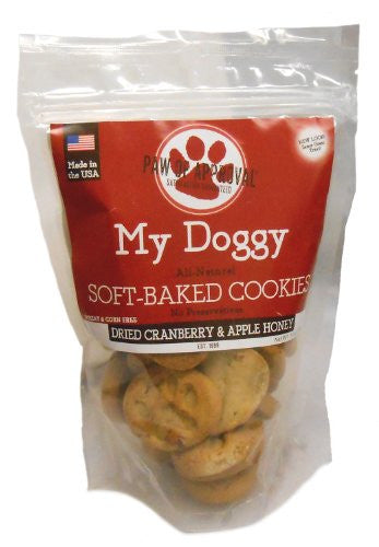 My Doggy Cookies - 10 oz Bag - CranApple