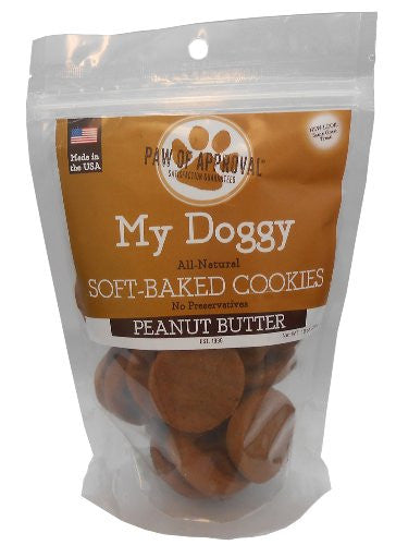 My Doggy Cookies - 10 oz Bag - Peanut Butter