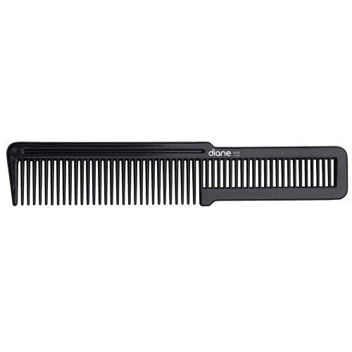 Diane Flat Top Comb, Black, 2 Count