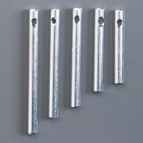 Miniatures - Silver Wind Chimes - 4 to 8mm - 5 pieces