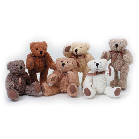 Bear - Fully Jointed - Assorted - 6 inches