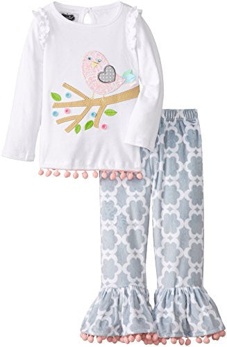 Little Chick Pant Set,Size:2T