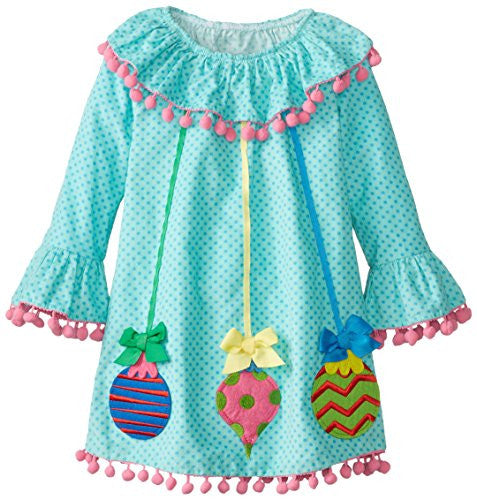 Christmas Ornaments Dress,Size: 5T