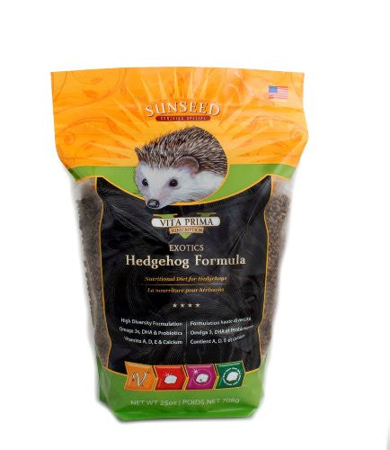 SunSeed Sunscription Vita Hedgehog Adult Food, 25 oz.