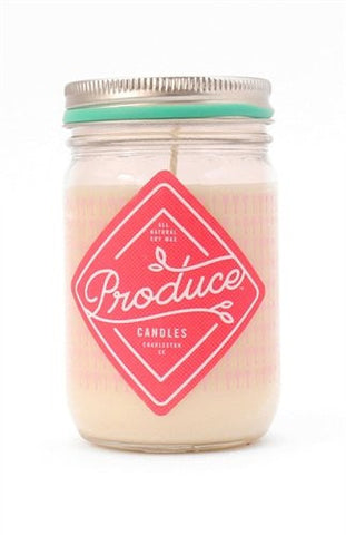 PRODUCE SPRING/SUMMER CANDLE - RHUBARB