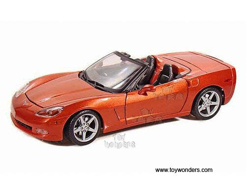 Maisto - Chevrolet Corvette Convertible (2005, 1/18 scale diecast model car, Bronze)