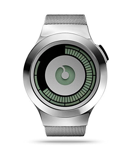Saturn Silver Watch