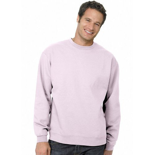Hanes ComfortBlend Long Sleeve Fleece Crew - p160 (Pale Pink / XX-Large)