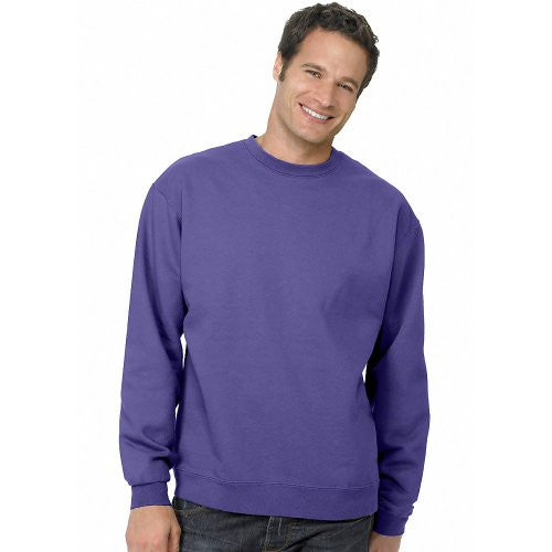 Hanes ComfortBlend Long Sleeve Fleece Crew - p160 (Purple / XX-Large)