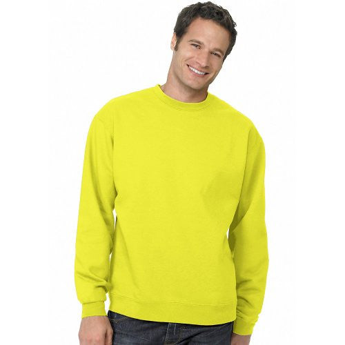 Hanes ComfortBlend Long Sleeve Fleece Crew - p160 (Safety Green / XX-Large)