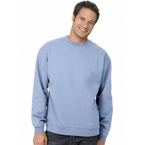 Hanes ComfortBlend Long Sleeve Fleece Crew - p160 (Light Blue / XXX-Large)