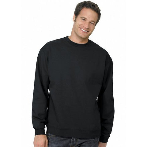 Hanes ComfortBlend Long Sleeve Fleece Crew - p160 (Black / Large)