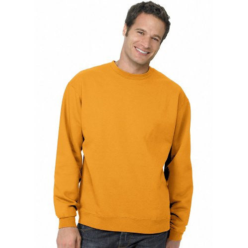 Hanes ComfortBlend Long Sleeve Fleece Crew - p160 (Gold / Large)