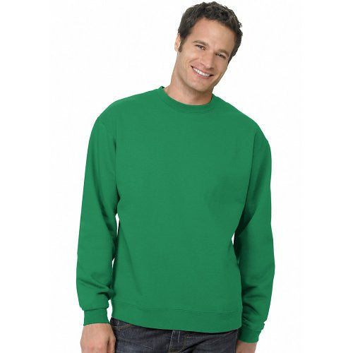 Hanes ComfortBlend Long Sleeve Fleece Crew - p160 (Kelly Green / Large)