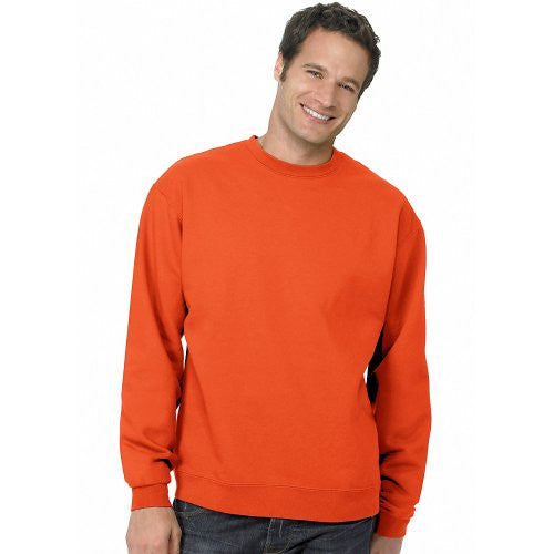 Hanes ComfortBlend Long Sleeve Fleece Crew - p160 (Orange / Medium)