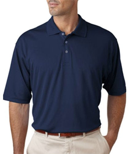 UltraClub Men's UC Performance Polo Shirt (Navy / XX-Large)