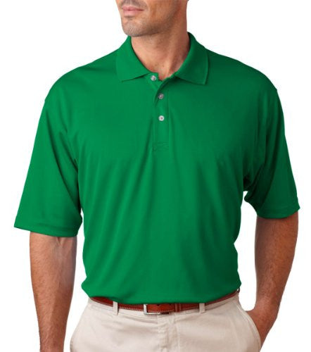 UltraClub Men's UC Performance Polo Shirt (Kelly / XXX-Large)