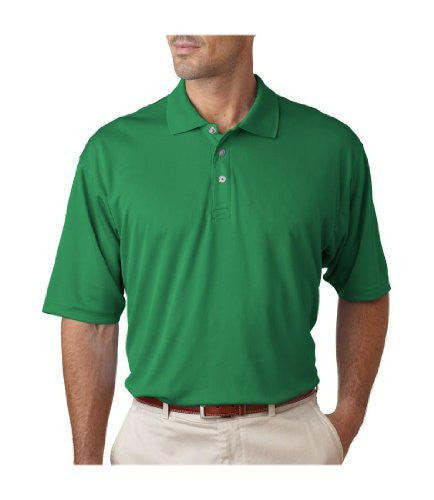 UltraClub Men's UC Performance Polo Shirt (Kelly / XXXXXX-Large)