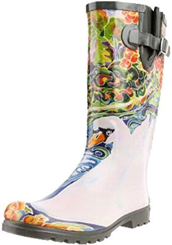Nomad Women's Puddles Rain Boot,9 B(M) US,Lake of Dreams
