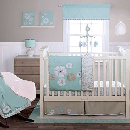 MIGI FUN FLORAL - 3PC Crib Set