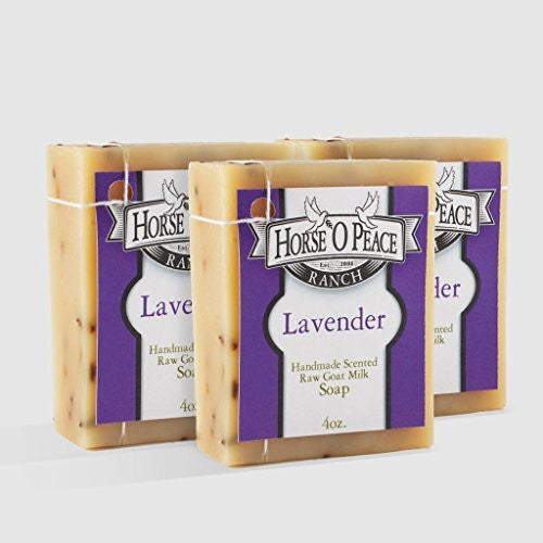 Lavender Bar Goat Milk Bar Soap - 4 oz.