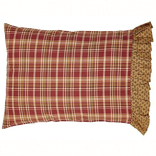 Napa Valley Ruffled Pillow Case Set of 2 - 21x30