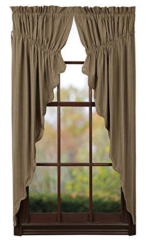 Providence Prairie Curtain Set of 2 - 63x36x18