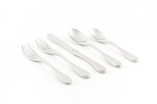 18/10 Stainless Steel 20-Piece Place Setting Matte