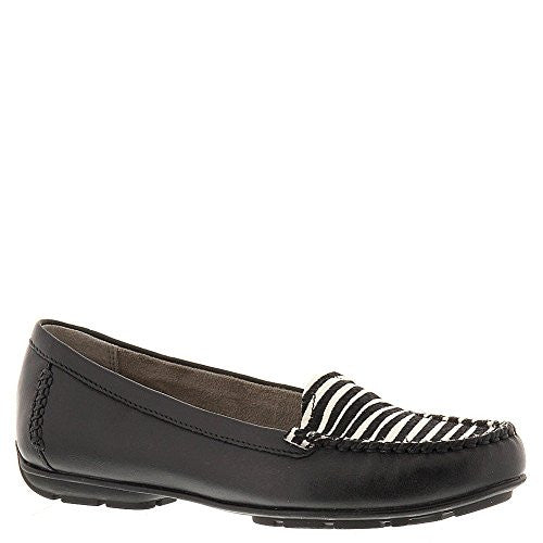 Naturalizer KELLYN Women's Slip On 8.5 B(M) US Zebra-Black