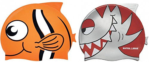 Water Gear Critter Cap (Silver piranha & Clown Fish)