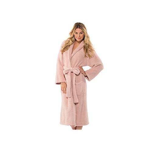 CozyChic Adult Robe Dusty Rose 1