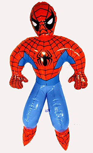 "Inflatable Spiderman 24"" (Each), Pack of 2"